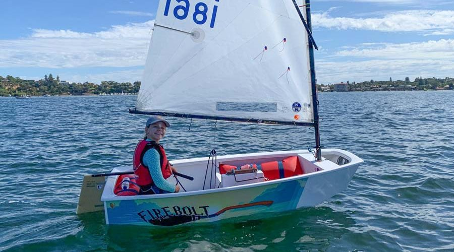 Optimist Sailing Dinghy Graphics Firebolt